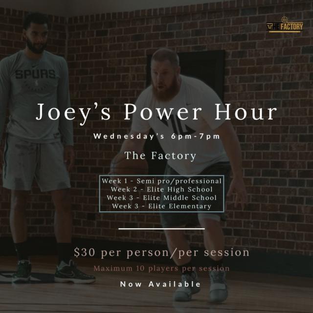Joey's Power Hour